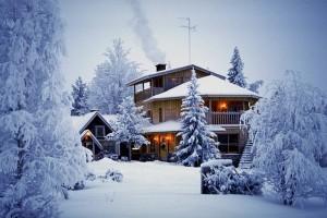 Kar yağınca böyle bir manzara beklemeyin elbette.